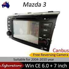 "7"" Car DVDGPS Head unit navigation stereo Mazda 3 Player fit for 2004-2009"