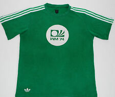 WEST GERMANY 74 ADIDAS ORIGINALS FOOTBALL SHIRT (SIZE M)