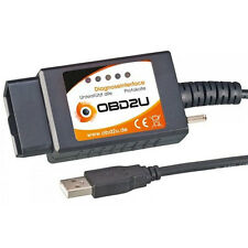 E-327 USB CanBus OBDII OBD 2 OBDII DIAGNOSIS dispositivo interface para FIAT Alfa Ford