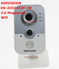 Hikvision DS-2CD2432F-IW 3MP POE Built-in Microphone Wi-Fi IR IP Network Camera