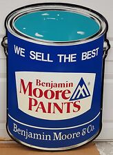 Rare Original Metal Benjamin Moore Paints Hardware Store Displays Vintage