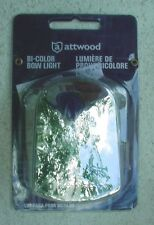 ATTWOOD BI-COLOR BOW LIGHT 12V DIE CAST ZAMAK WITH PERMA-PLATE FINISH 6375D6
