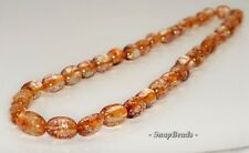 20X10-10X8MM  CITRINE QUARTZ GEMSTONE GRADUATED NUGGET LOOSE BEADS 19""
