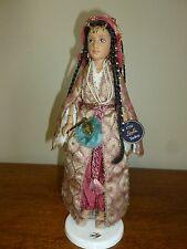 American Girl Leyla Doll with Tag and Stand, Girls of Many Lands Turkey