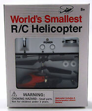 World's Smallest R/C Helicopter - Red MIB!