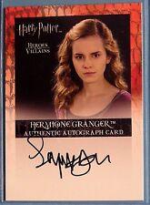 Harry Potter-H&V-Emma Watson-Hermione Granger-Signature-Autograph Card-AUTHENTIC