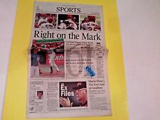 MARK MRGWIRE L.A. TIMES VINTAGE BASEBALL HOME RUN KING NEWSPAPER VERY RARE!!!