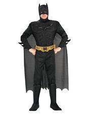 """El CABALLERO OSCURO ASCIENDE Batman DISFRAZ muscular, L Para Hombre, Cintura Pecho 42-44"""", 34-36"""",LEG 33"""""""