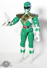"""Mighty Morphin Power Rangers original GREEN 8"""" TOMMY action figure 1993"""