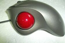 Logitech Classic USB & PS/2 TrackMan Mouse w/Scroll-Wheel 804360-1000 T-BB18 OEM