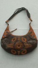 BCBG GIRLS Leather Purse a Distinctive woven two tone leather Design