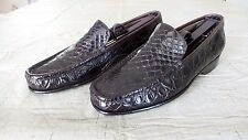 RARE $1,300 Bragano Cole Haan Crocodile Alligator Dress Shoes Loafers Boots Polo