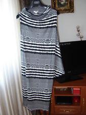 Kleid von Escada Gr.34-36 NP € 280,- Schwarz Weiss
