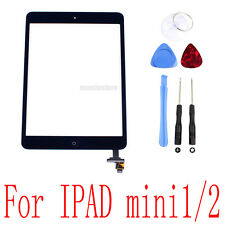 New Black Front Touch Screen Glass Digitizer Lens Replacement for iPad Mini 1&2