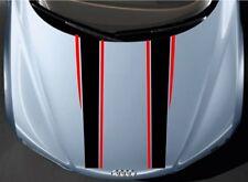Car Racing Sport Stripe Hood decals Vinyl Graphics stickers #CG356