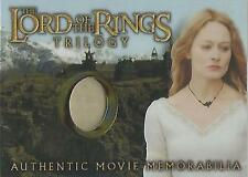"""Lord of the Rings Trilogy - """"Eowyn's Golden Hall Dress"""" Costume Memorabilia Card"""