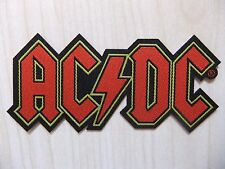 Aufnäher - Patch - AC/DC - Red Logo Cutout - Judas Priest