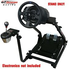 GT Omega Volant support PRO for Thrustmaster T300RS Course & TH8A manette