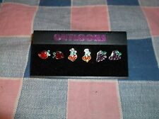 NOC  Outlooks Earrings 3 Sets Fruit Strawberry Cherry Grape  About 3/8 Inch High