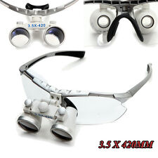 3.5X420mm Dental Surgical Medical Binocular Loupes Optical Glass Loupe USA