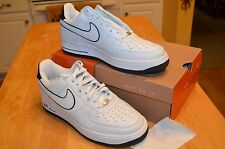 NIKE AF1 624040-119  White / Black   Size 10   NEW   Air Force 1  Low