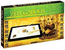 Toysmith Zen Garden Rocks Purified Sand COMPACT Relaxation Japanese Meditative