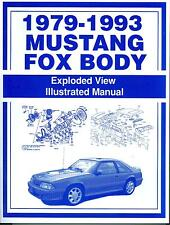 1979-93 MUSTANG FOX BODY EXPLODED VIEW MANUAL