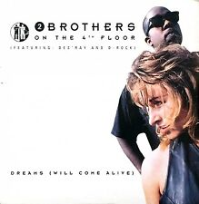 2 Brothers On The 4th Floor Feat. Des'Ray And D-Rock CD Single Dreams (Will