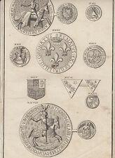 Diderot e D'Alambert, 1778, sigilli imperiali, stemmi, araldica, ordini cavaller