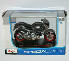 Maisto - DUCATI MONSTER S4 (Grey) Motorbike - Model Scale 1:18