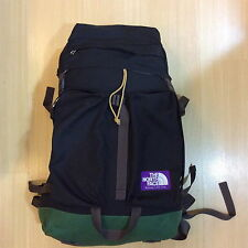NORTH FACE PURPLE LABEL BLACK GREEN NYLON BIG CAMPING BACKPACK SUPREME VISVIM