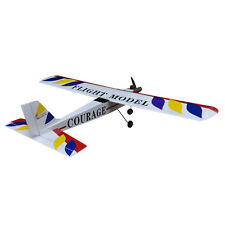 "RC plane model Nitro Trainer airplane ARF 4CH Courage-10 59.4"" ZY 01#"