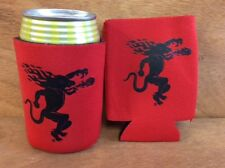 Fireball Whisky Red Beer Koozies Can Cooler Coozie - Two (2) NEW & Free Shipping