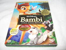 WALT DISNEY'S BAMBI DVD 2-DISC SPECIAL EDITION PLATINUM EDITION 10-PAGE GUIDE