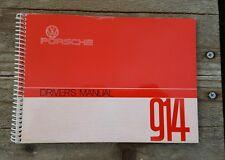 Porsche 914 Driver.s Manual