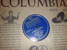 78RPM Columbia 17510 Helen Traubel, Grand Night 4 Singin / Moonlight Madonna wV