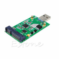 USB 3.0 to Mini PCIE mSATA SSD mSATA to USB 3.0 SSD don't need USB cable Hot