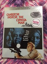 THE OMEGA MAN -BLU-RAY+DVD -NEW AND SEALED- REGION B+2- PREMIUM COLLECTION- HMV