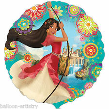 "18"" Disney's Princess Elena Of Avalor Children's Party Round Foil Balloon"