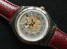Swatch Automatic rubin the first automatic from 1991 (sam100), nuevo + embalaje orig.)