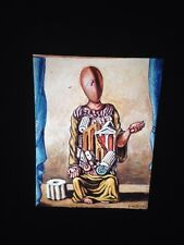 """Giorgio De Chirico """"Solitary Archeologist"""" Surrealist Art 35mm Slide"""