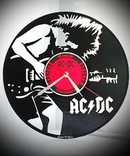 "Exclusive wall clock ""AC DC ver.2"", made of vinyl."