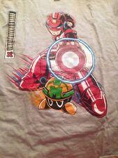 Mega Man Iron Man Mashup - T-Shirt Womens M Mega Millionaire -1up Box