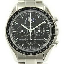 Authentic OMEGA REF. 3576 50 Speedmaster Moonphase Manual winding  #260-001-1...