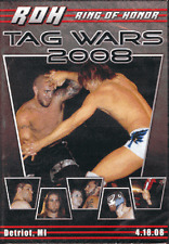 Official ROH Ring of Honor Tag Wars 2008 DVD (Pre-Owned)