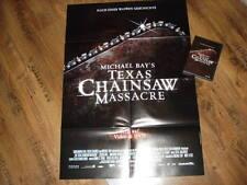 Texas Chainsaw Massacre DVD FSK 18 + original Filmplakat RAR OOP Kinoplakat A1