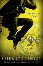 Instinct (Chronicles of Nick) by Sherrilyn Kenyon (Hardcover) FREE SHIPPING (US)