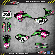 YCF 125 pre 2016 custom graphics kit DUKE  style / decals / stickers