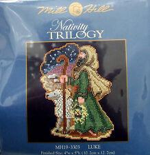 Mill Hill Cross Stitch Kit de grano Navidad Natividad Trilogía' Luke « 19-3303