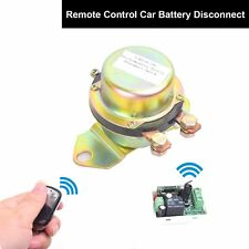 Car Auto Remote Control Battery Switch Disconnect Anti-theft Master Kill DC 12V